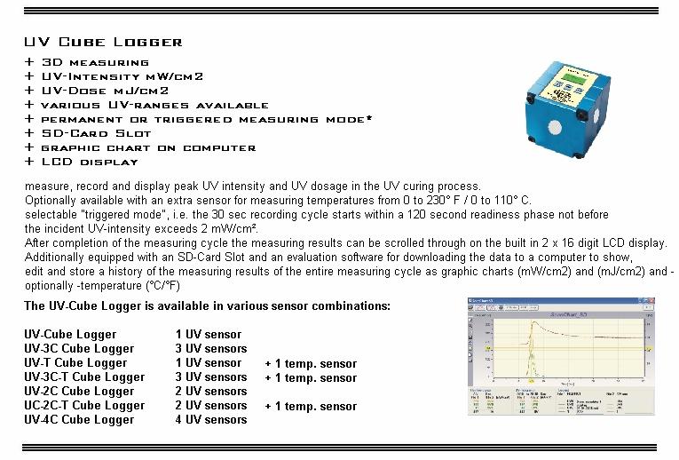 UV-Datalogging